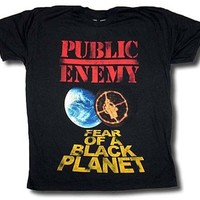 Anime T-Shirt cosplay 2018 Hot Sale New T Shirt PUBLIC ENEMY Fear Of A Black Planet Distressed T-Shirt New Authentic S-3XL Anime Casual Clothing AT_57_4