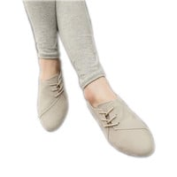 Flats Women 2016 New Womens Fashion Spring Summer Style Casual Shoes Lace-up Women Solid Suede Leather Yellow Black Beige Red