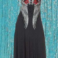 Pistol Cowgirl Dress | Elusive Cowgirl - Western Wear, Cowgirl Clothing, Cowgirl Sunglasses