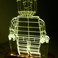 lego night lght, children's lamp