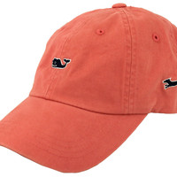 Whale Logo Baseball Hat in Coral by Vineyard Vines, Also Featuring Longshanks the Fox