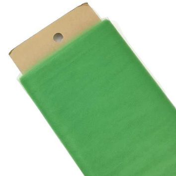 "Emerald green 54"" tulle fabric / 1-5 yards"