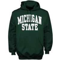 Michigan State Spartans Bold Arch Hoodie – Green