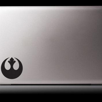 Rebel Alliance Inspired Car or Laptop Decal Star Wars Parody Sticker