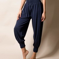 Bamboo Taj Pants - Navy