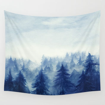 Into The Forest II Wall Tapestry by Marco Gonzalez
