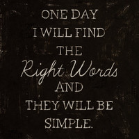 The Right Words Art Print by Albert Blanchet