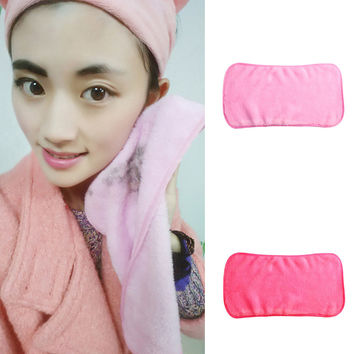 Makeup Remover Towel Reusable Makeup Cleaning Towel Soft Microfiber Makeup Remove Washcloth