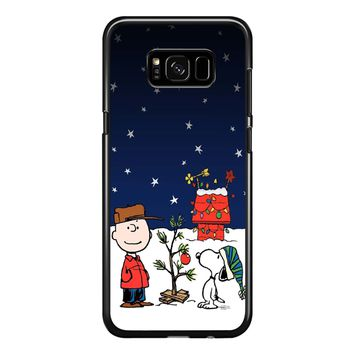 Charlie Brown Christmas Peanuts 001 Samsung Galaxy S8 Plus Case