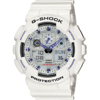 G-Shock Ga100a-7A Watch White One Size For Men 16776315001