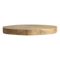Circle-shaped Wooden Cutting Board