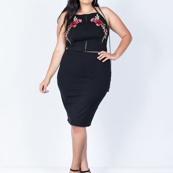 Plus Size Your Classic Bodycon Skirt