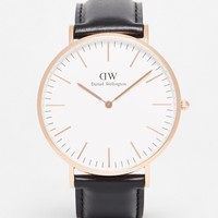 Daniel Wellington Sheffield Gold Watch