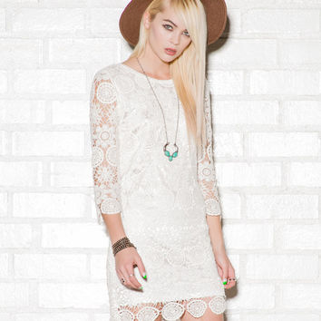 Macramé Dress