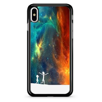 Rick And Morty - Star Viewing 3 iPhone X Case