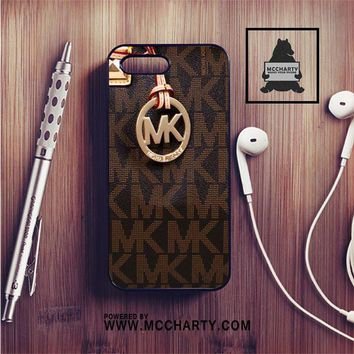 MICHAEL KORS LOGO BROWN IPHONE 7 | IPHONE 7 PLUS