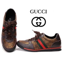 Boys & Men Gucci Casual Sneakers Sport Shoes