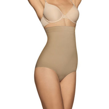 Walmart: FLEXEES by Maidenform Shaping Seamless Hi-Waist Brief, 82432, Ultra Firm Control Shapewear