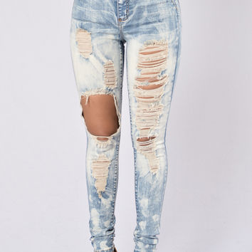 Acid Rain Jeans - Medium Blue
