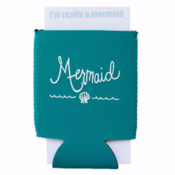 Mermaid & Captain Koozie