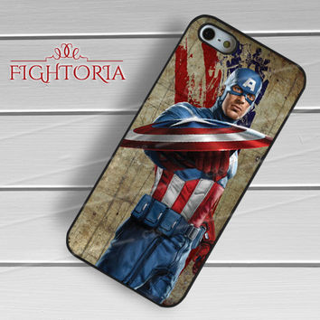 Captain america vintage - zzZzz for  iPhone 4/4S/5/5S/5C/6/6+s,Samsung S3/S4/S5/S6 Regular/S6 Edge,Samsung Note 3/4