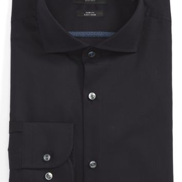 BOSS Slim Fit Easy Iron Solid Dress Shirt | Nordstrom