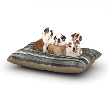 "CarolLynn Tice ""Grey Accent"" Dark Neutral Dog Bed"