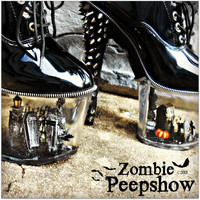 "Dollhouse Collection: ""The Cemetery"" Miniature Goth Spike Graveyard Heels"