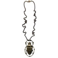 A MANO BEETLE NECKLACE  - Jewelry - Gals