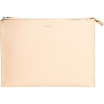 Saturdays NYC Kirk Large Leather Zip Pouch | Nordstrom