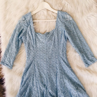 Blue Mini Romper
