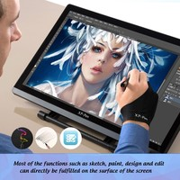 XP-Pen Artist22 22-Inch Pen Display Graphic Monitor IPS Monitor Drawing Tablet Dual Monitor with Adjustable Stand