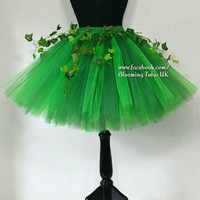 FULLY booked for HALLOWEEN ADULT Poison Ivy Tutu Skirt-Fancy Dress, Cos play, Hen Do, Party