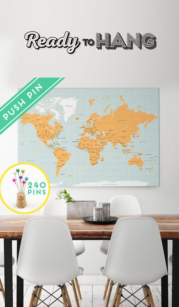 Large world map canvas choose color from macanaz shop large gumiabroncs Gallery
