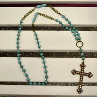 Cross My Heart Necklace - Southern Jewlz Online Store