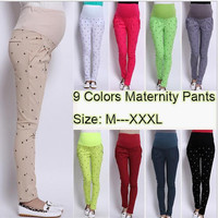 Maternity Pants Belly Cotton Pants For Pregnant Women Maternity Clothing Plus Size XXXL Pants Autumn Spring
