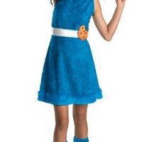 Girls Cookie Monster Teen (As Shown;14 To 16)
