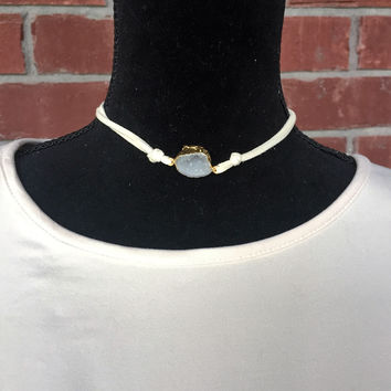 Tied Together Stone Choker