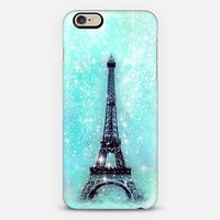 Dreamy Turquoise Eiffel Tower iPhone 6 case by Organic Saturation | Casetify