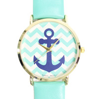 Anchors Away Watch - MINT