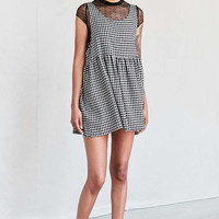 Urban Renewal Recycled Checkered Babydoll Dress - Urban Outfitters