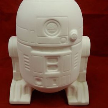 R2D2 Star Wars Bank with Stopper