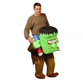 Halloween costume Inflatable Cosplay The Monster Game Clothing Men costume