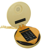 Hamburger Home Office Desktop Corded Phone Telephone Stuff Cool Birthday Gift