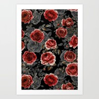 Rose Garden Art Print by OzDemir