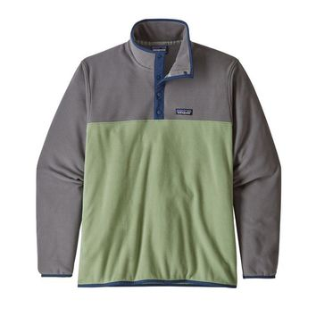 PATAGONIA MEN'S MICRO D SNAP-T FLEECE PULLOVER