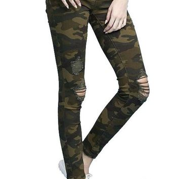 Nights Out Jeans- Camo