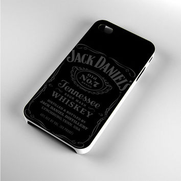 Jack Daniels Tennessee Whiskey Grey iPhone 4s Case