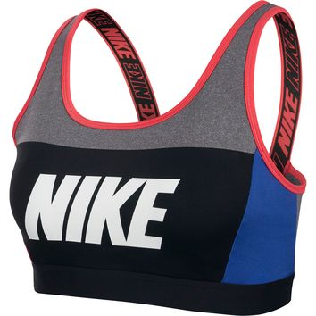Nike Women's Distort Classic Medium Support Sports Bra | DICK'S Sporting GoodsProposition 65 warning iconProposition 65 warning icon