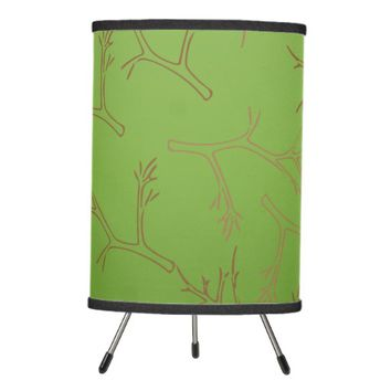 Spring Branches Tripod Lamp